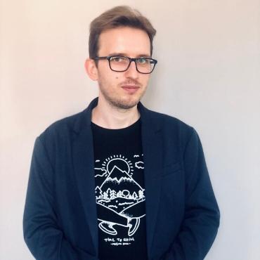 psycholog Dawid Koliński