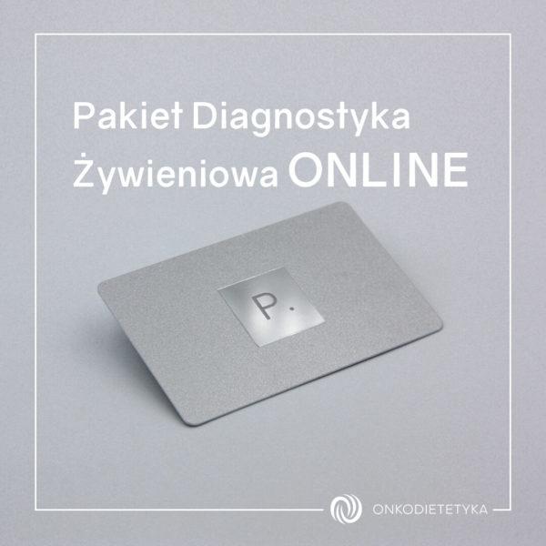 Pakiet Diagnostyka Żywieniowa ONLINE- Psycholog onkologiczny Onkodietetyka