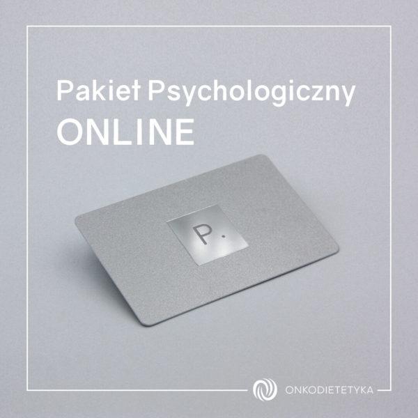 Pakiet Psychologiczny ONLINE- Psycholog onkologiczny Onkodietetyka